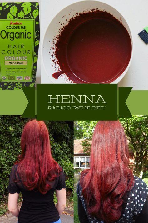 Haare färben I rote Haare mit Henna Das Wine Red von Radico gibt den Haaren dank Kräutern und Hibiskus eine sehr kühle, natürliche Farbe und sehr viel Pflege und Glanz. So schön!