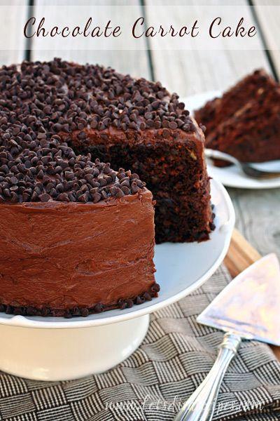Chocolate Carrot Cake on MyRecipeMagic.com