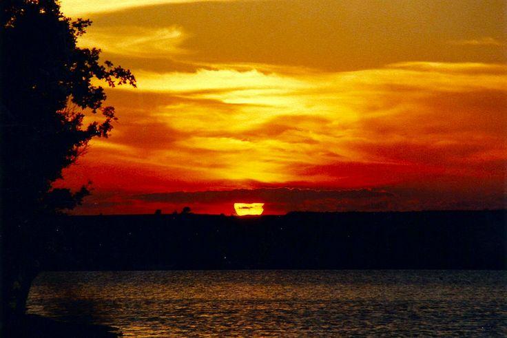 sunset enez-semandrek-old analog
