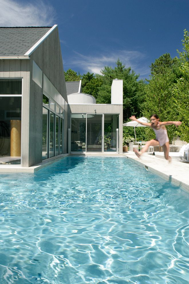 Traumhaus modern mit pool  Die besten 25+ Modern aboveground swimming pools Ideen auf ...