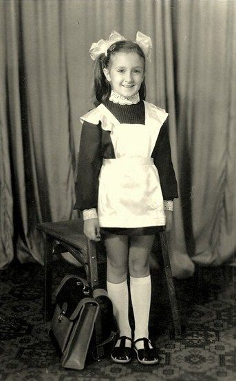 1960 Russian school uniform