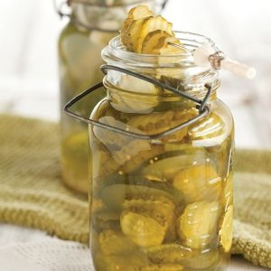 Icebox Bread and Butter Pickles - Cooking with Paula Deen