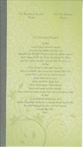 GROSIR Undangan Pernikahan Unik Hepi 218 MURAH @ Netralindo Paper - Klik Di Sini !
