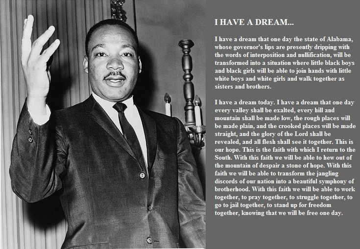 Mlk Quotes I Have A Dream Speech: Martin-luther-king-jr-i-have-a-dream-speech-words