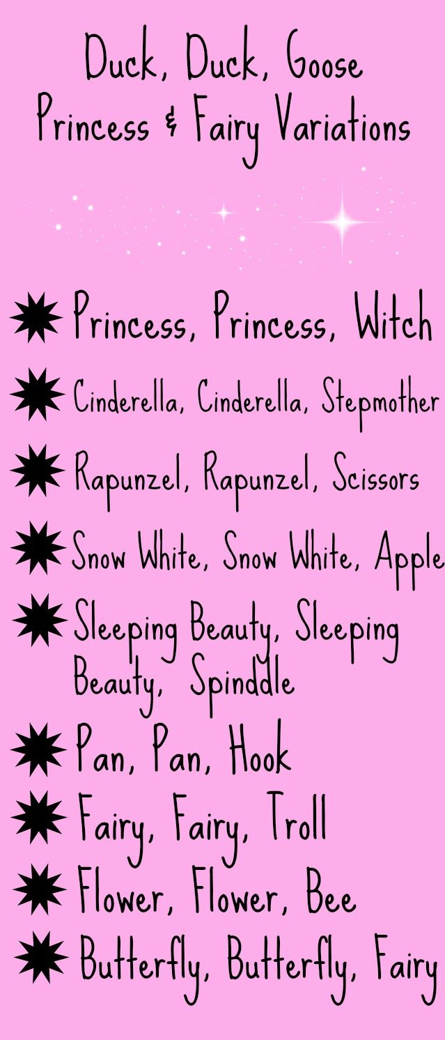 This blog has fun game ideas for princess and fairy parties.  #fairyparty #princessparty