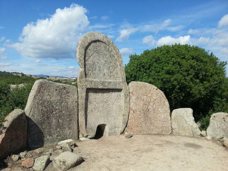 Tomb of Giants (2000 BC) inDorgali, Sardinia.  Italy.  2014