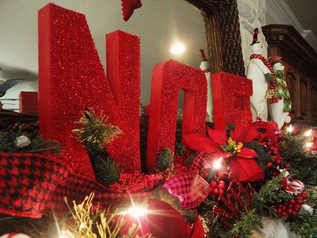 Guest Project-- Christmas Decor (Burlap Paper Mache Letters!!)