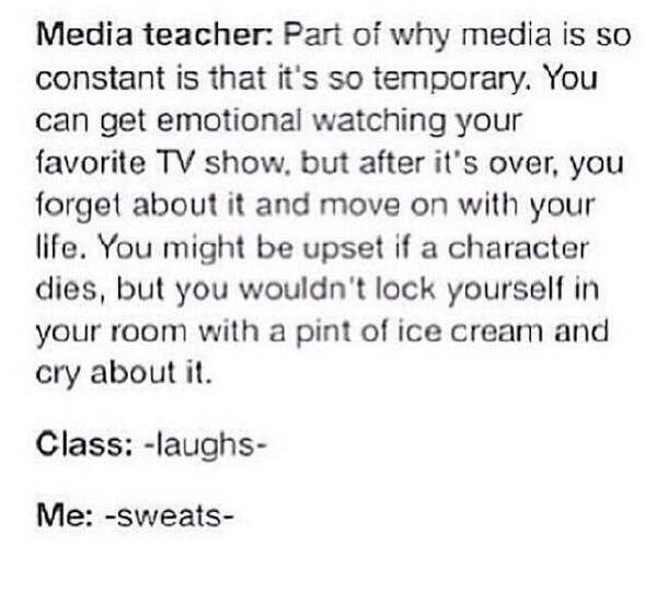 It's evident this teacher has never watched Sherlock. Or anything really.