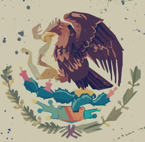 ezkibel: self created art. Gobierno Federal