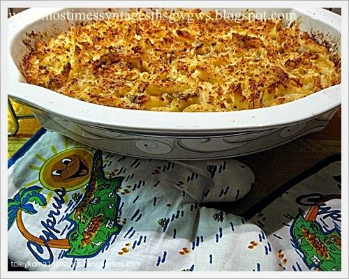 Oven baked penne with mushrooms and cheeses | deliciousrecipesofgogo