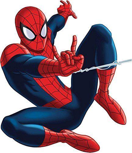 SPIDERMAN WEB ATTACK Decal WALL STICKER Home Decor Art Comics C462 Large @ niftywarehouse.com #NiftyWarehouse #Spiderman #Marvel #ComicBooks #TheAvengers #Avengers #Comics