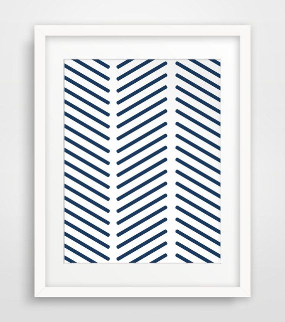 INSTANT DOWNLOAD: Navy Moroccan Wall Art  NO PHYSICAL PRINTS OR FRAME INCLUDED  ===   Print out this modern wall artwork from your home