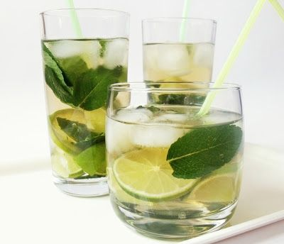 Citromhab: Zöld teás mojito