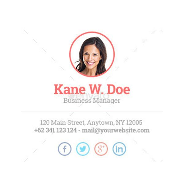 10 Best Email Signature Design Case Studies [With Tips On How To Create Your Own] – Design School