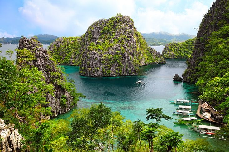 Coron, Busuanga island, Palawan province, Philippines. Photo by Sean3810 / Getty Images