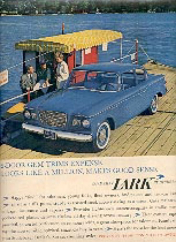 1960 Studebaker Lark ad ( 1622) (With images