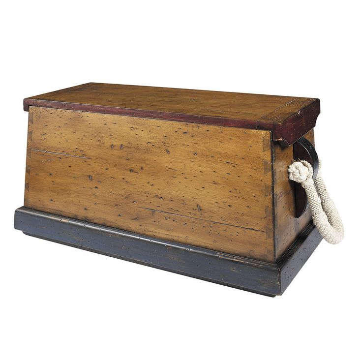 Large sailor 39 s chest muebles de madera astronom a y for Viking muebles