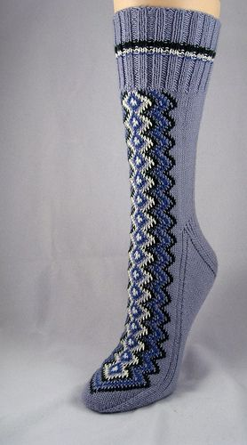 Finn-ish sock by bogiebogie, via Flickr
