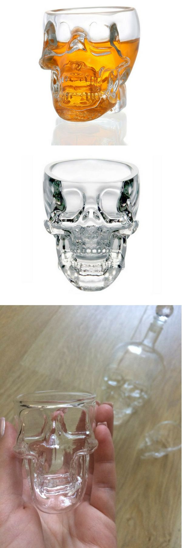 This Skull Shot Glass is the Perfect gift for any occasion! Real nice gift idea for someone that loves Skulls!