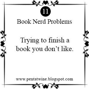 Pentatwine: Book Nerd Problems #11