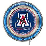 Arizona Wildcats Neon Clock