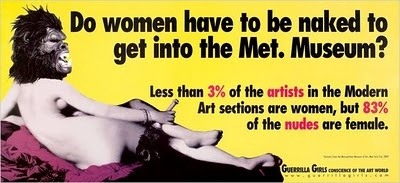 I'm doing a lot of feminist art research right now.