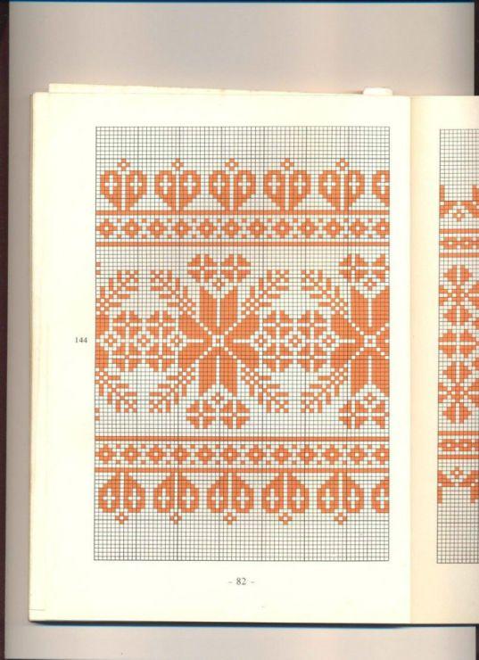 Vintage Hungarian Pantterns Somogyi szőttesminták és keresztszemes díszítése, 1969 Part 1 Part 2 Part 3 Part 4
