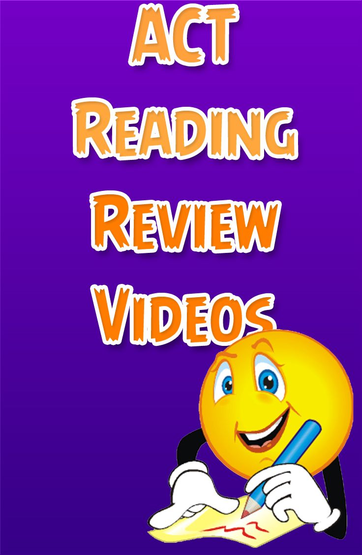 http://www.mometrix.com/academy/act-reading/   Be prepared for the reading section of the ACT with these free ACT Reading review videos.