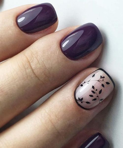 Cutest Red Vine Nail Art Designs for Prom