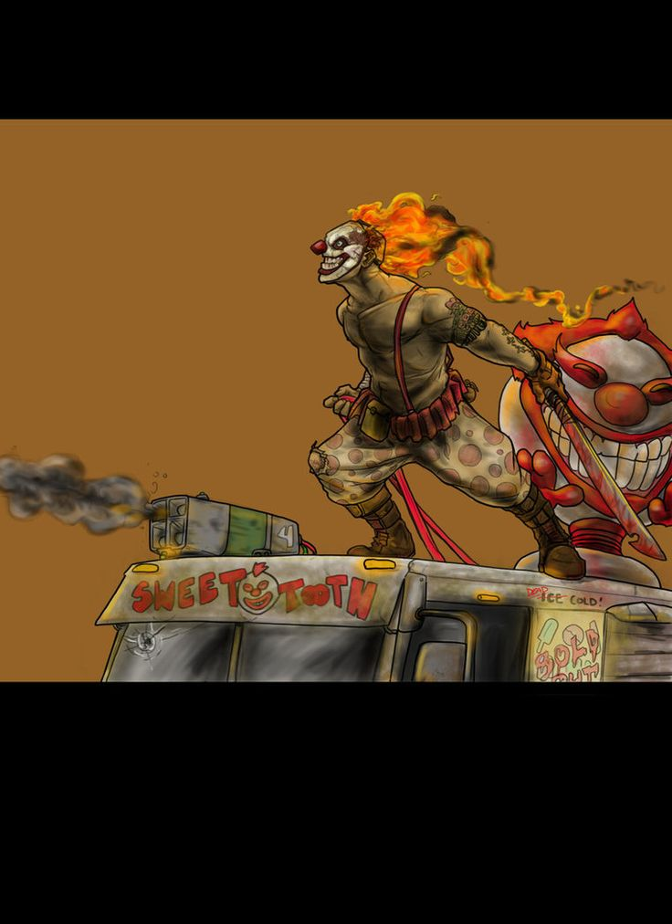 7 best twisted metal images on pinterest twisted metal - Sweet tooth wallpaper twisted metal ...