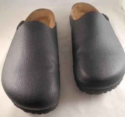 Birkenstock/Black/Birki's 260/Clog Shoes/Mules/Ladies 9/Mens7EUC Made in Germany