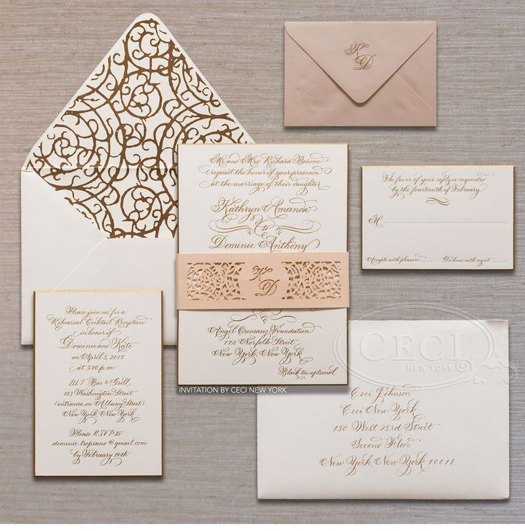 17 Best Images About Ceci New York Invitations On