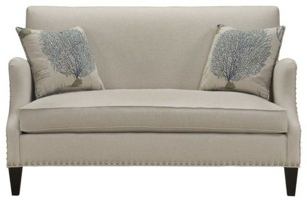 Couches and seats cushions white design