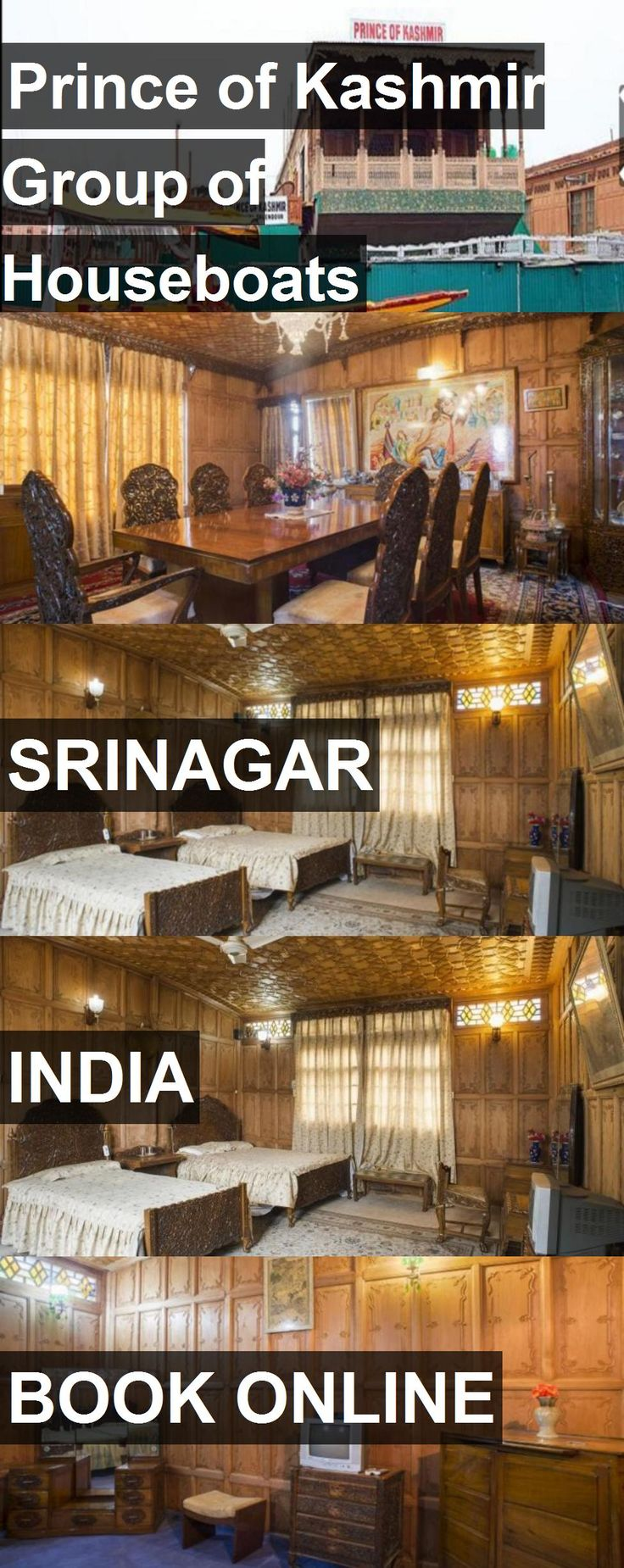 Hotel Prince of Kashmir Group of Houseboats in Srinagar, India. For more information, photos, reviews and best prices please follow the link. #India #Srinagar #PrinceofKashmirGroupofHouseboats #hotel #travel #vacation