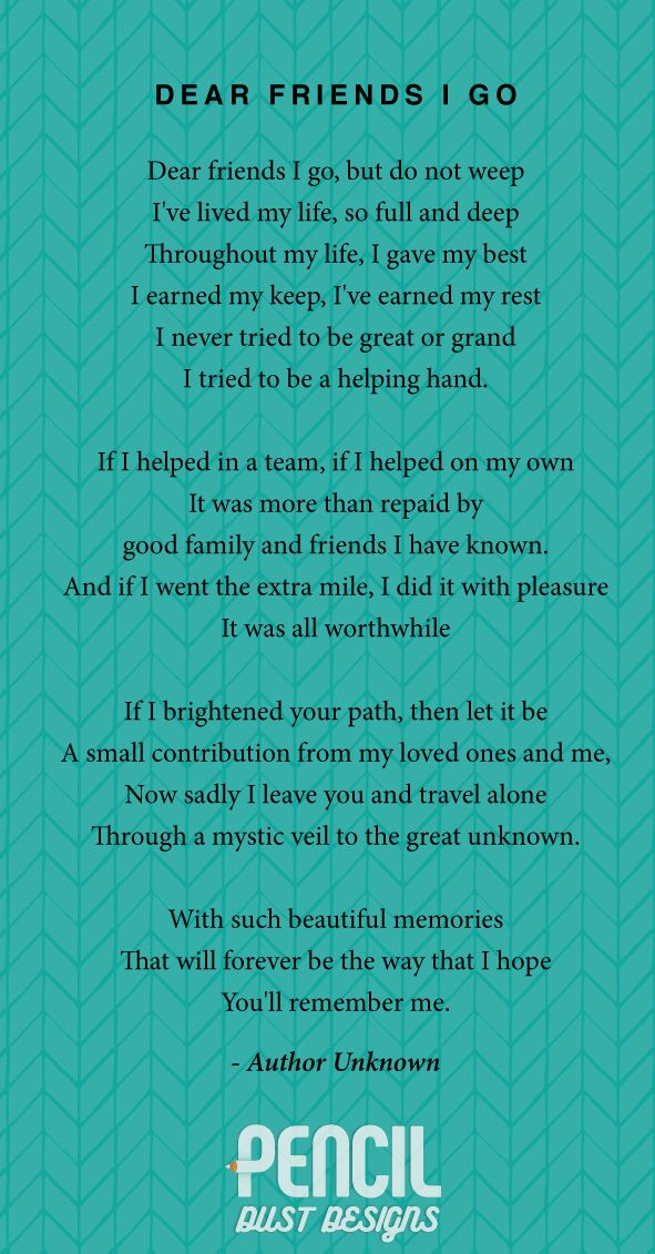 25 best ideas about funeral poems on pinterest funeral