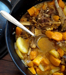You can never have too many potjie recipes - try this Lamb and Pumpkin Potjie.