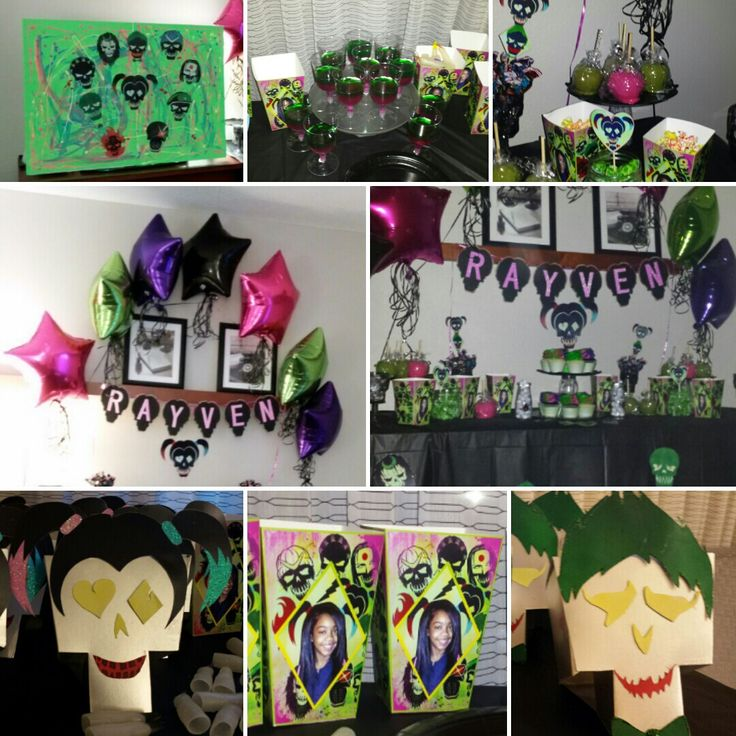 53 Best Images About Suicide Squad Birthday Party On