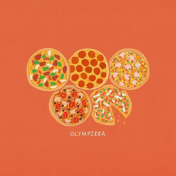 Olympizza Art Print
