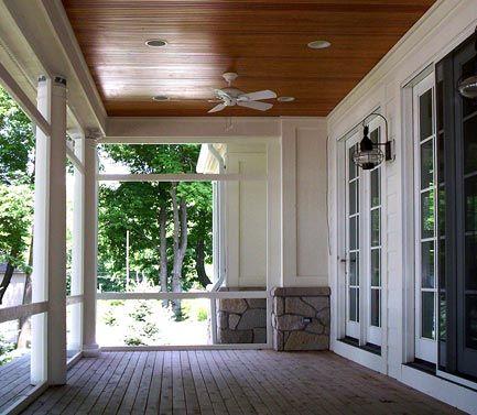 PVC Decking Trim Porch  Railings  Best Composite  Wood  House porch ideas  Porch