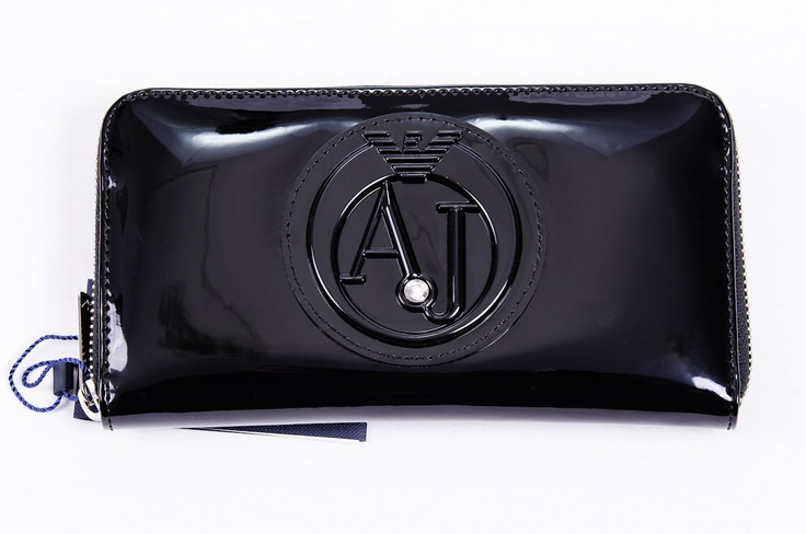 Black Armani Wallet