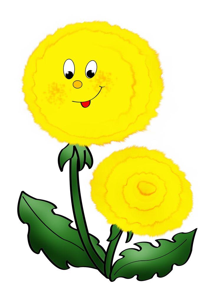 Картинки цветов для оформления в детском саду, день приветствий