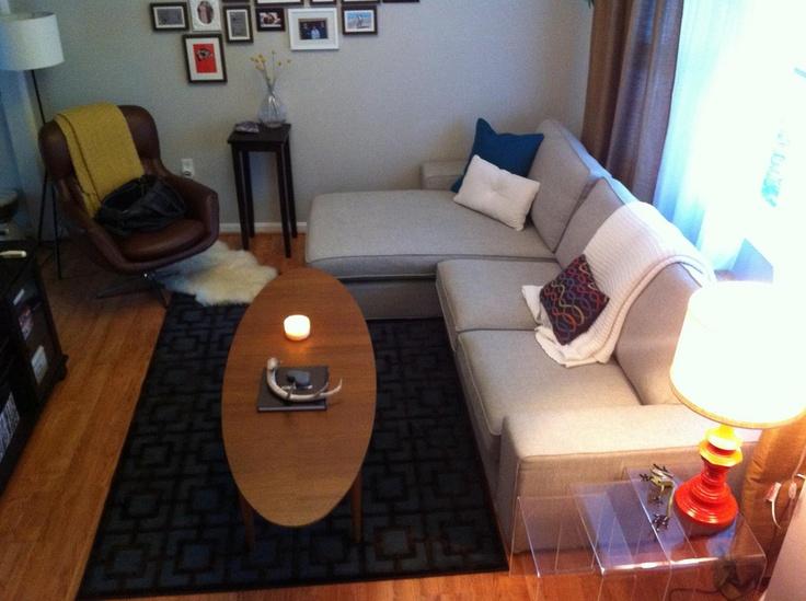ikea kivik sofa and Stockholm coffee table Home Pinterest