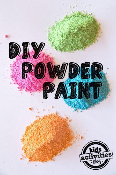 DIY Powder Paint