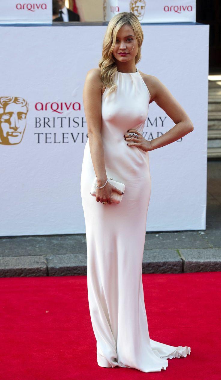 Laura Whitmore at the BAFTAS 2014 #LauraWhitmore #2014 #BAFTAS