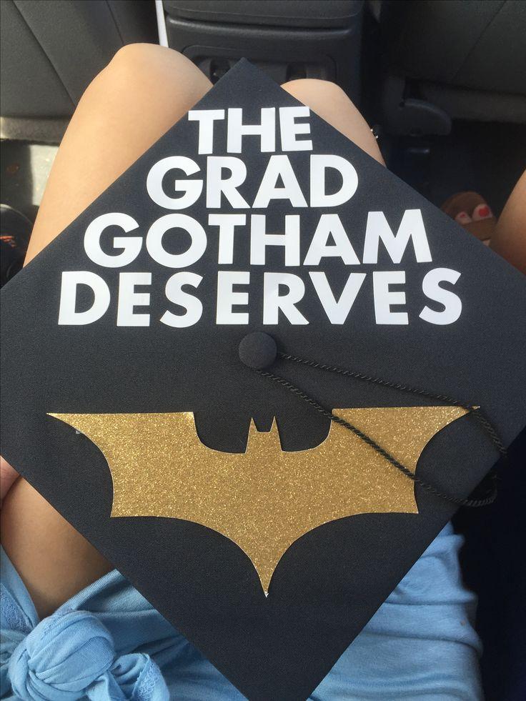 Batman Graduation Caps Gotham Graduate Nerdherd