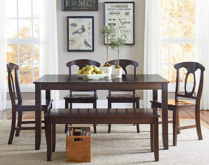 Larkin 6 Piece Dining Table Set by Standard Furniture