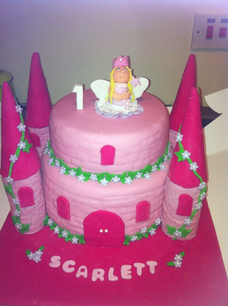 Fairy Princess Cake Images : Fairy princess castle cake Birthdays Pinterest ...