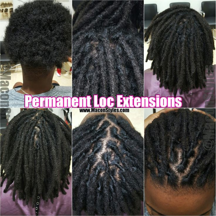 8 Best Permanent Loc Extensions Images On Pinterest Locs