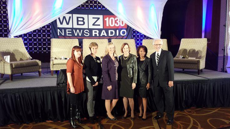 WBZ Boston Business Breakfast speaking engagement