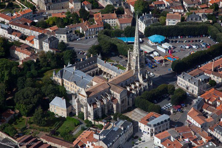 ✈️ Photo aérienne de : Luçon - Vendée (85)